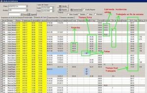 Software Control Horario Empleados  SECURTEK Lite